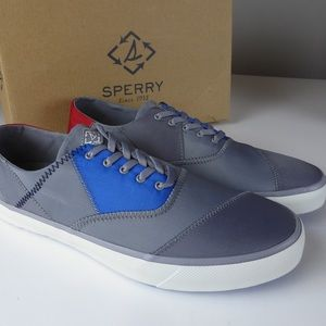 Sperry Captains CVO Sailcloth Patchwork Sneakers